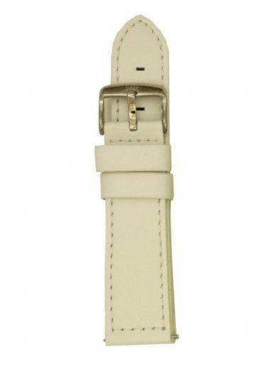 Davis Uhrenarmband weiß 20mm B0260