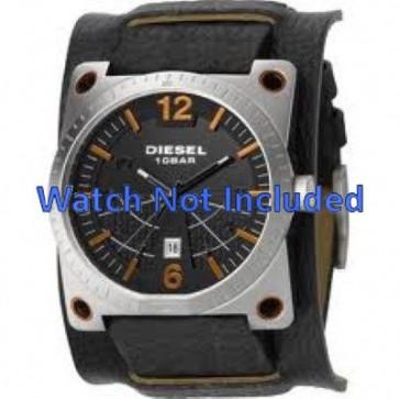 Diesel Uhrenarmband DZ1212 Leder Schwarz 28mm + standardnähte
