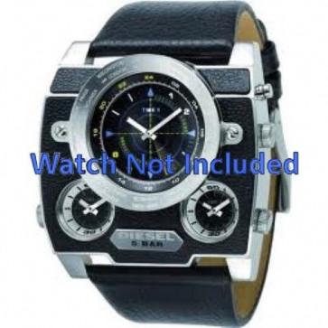 Uhrenarmband Diesel DZ1243 Leder Schwarz 37mm