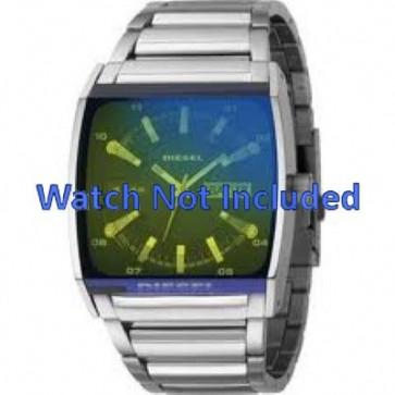 Diesel Uhrenarmband DZ1251 Metall Silber 34mm