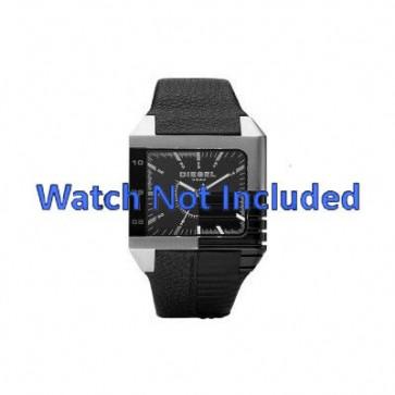 Uhrenarmband Diesel DZ1397 Leder Schwarz 26mm