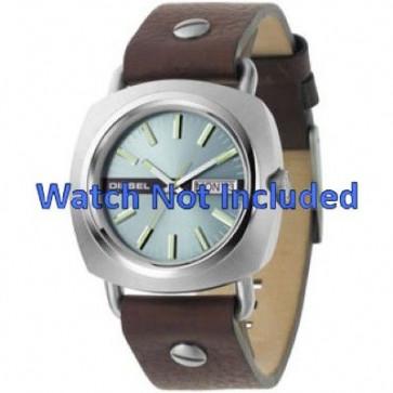 Uhrenarmband Diesel DZ2146 Leder Braun 22mm