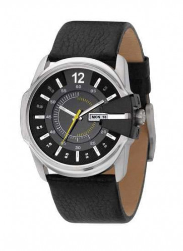 Uhrenarmband Diesel DZ1295 Leder Schwarz 27mm