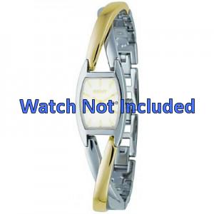 Uhrenarmband DKNY NY4634 Case / Strap Stahl Zweifarbig 13mm