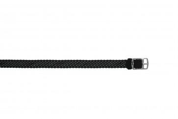Perlon band 10mm schwarz