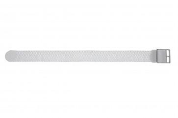 Perlon band 16mm weiß