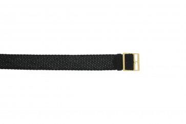 Perlon band 14mm schwarz