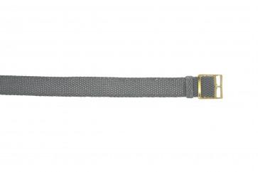Perlon band 20mm grau