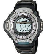 Casio Uhrenarmband 10031024 Gummi Schwarz 20mm