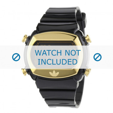 Adidas Uhrenarmband ADH1572 Silikon Schwarz 22mm