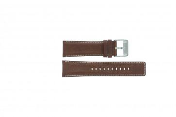 Fossil Uhrenarmband AM-3891 Leder Braun 25mm