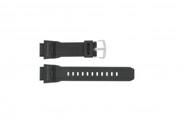 Casio Uhrenarmband G-9300-1 / 10388870 Silikon Schwarz 20mm