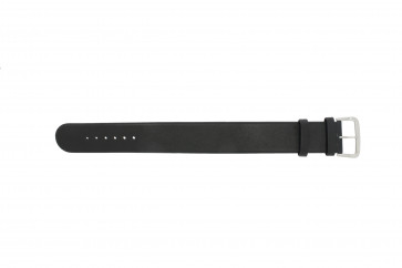Danish Design Uhrenarmband IV13Q676 / IV12Q676 Leder Schwarz 24mm