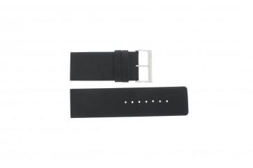 Davis Uhrenarmband BB0330 Leder Schwarz 30mm
