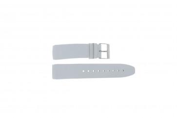 Davis Uhrenarmband BB1544 Leder Weiß 22mm
