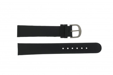 Danish Design Uhrenarmband DD18mmXL Leder Schwarz 18mm