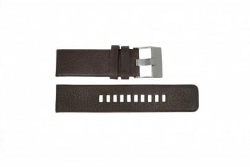 Uhrenarmband Diesel DZ1467 / Screw+Springbar Leder Braun 24mm