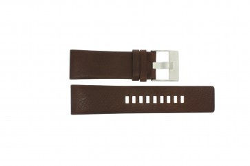 Diesel Uhrenarmband DZ1118 Leder Braun 26mm