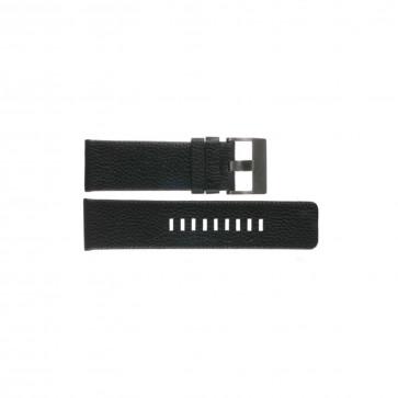 Diesel Uhrenarmband DZ1241 Leder Schwarz 28mm