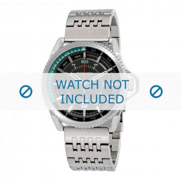 Diesel Uhrenarmband DZ1729 Rostfreier Stahl Silber 24mm