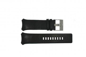 Uhrenarmband Diesel DZ3034 / DZ3035 Leder Schwarz 32mm