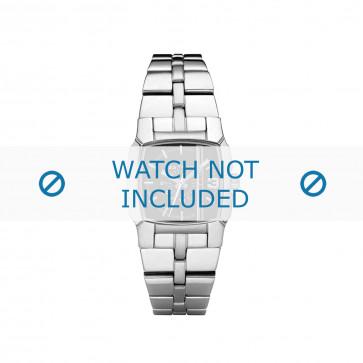 Diesel Uhrenarmband DZ5229 Rostfreier Stahl Silber 21mm