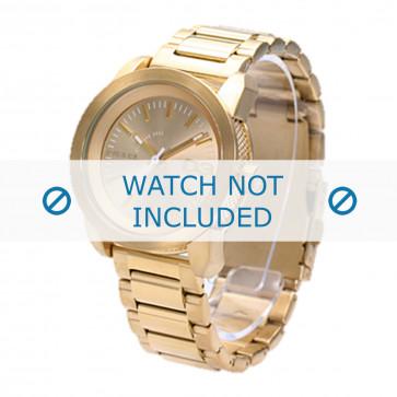 Diesel Uhrenarmband DZ5234 Rostfreier Stahl Gold 20mm