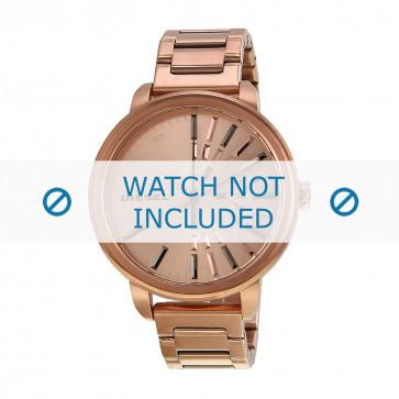 Diesel Uhrenarmband DZ5418 Metall Rosé 18mm