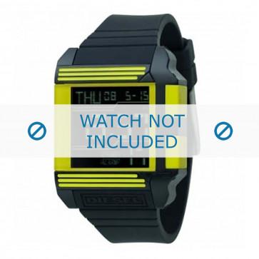 Diesel Uhrenarmband DZ7095 Silikon Schwarz 26mm