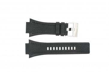 Uhrenarmband Diesel DZ4172 Leder Schwarz 22mm