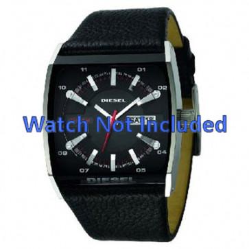 Uhrenarmband Diesel DZ1253 Leder Schwarz 34mm