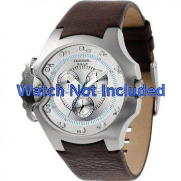 Uhrenarmband Diesel DZ4132 Leder Braun 17mm