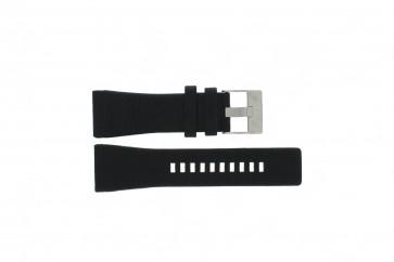Uhrenarmband Diesel DZ1116 / DZ1115 Leder Schwarz 29mm