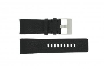 Diesel Uhrenarmband DZ4031 / DZ4032 / DZ4028 Leder Schwarz 29mm