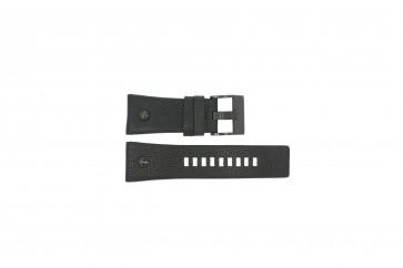 Diesel Uhrenarmband DZ7127 Leder Schwarz 29mm
