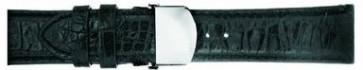 Uhrenarmband Mark Ecko E01000G1 Leder Schwarz 22mm