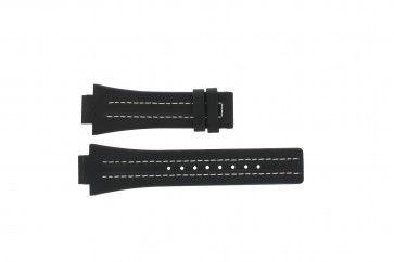 Uhrenarmband Festina F16185 / 1 Leder Schwarz 16mm