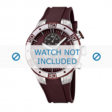Festina Uhrenarmband F16667-3 Kunststoff Rot 26mm