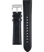 Uhrenarmband Fossil FS4545 Leder 22mm