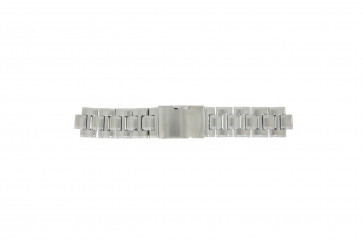 Fossil Uhrenarmband CH-2566 Stahl Silber 11mm