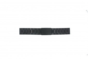 Fossil Uhrenarmband CH2816 Metall Schwarz 20mm
