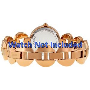 Fossil Uhrenarmband ES-3011 Stahl Gold (Rosa) 24mm