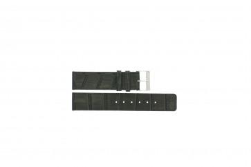 Uhrenarmband Universal G810 Leder Grau 20mm