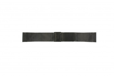 Davis Uhrenarmband BB0812 Stahl Schwarz 22mm