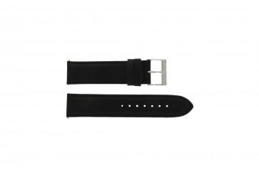 Guess Uhrenarmband W10562G3  Leder Schwarz 22mm