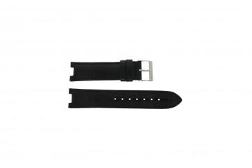 Guess Uhrenarmband W11607L2 Leder Schwarz 19mm