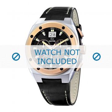 Uhrenarmband Jaguar J625-1 / J620 Leder Schwarz 16mm