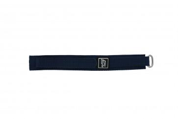 Uhrenarmband Universal 5883-06-20 Klettband Blau 20mm