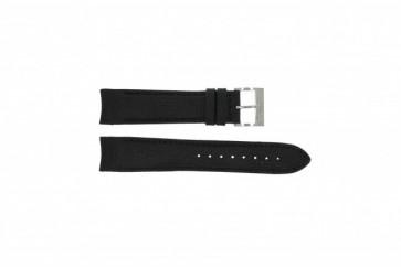 Nautica Uhrenarmband A15102G / A24520G / N16553G Silikon Schwarz 22mm + schwarzen nähte