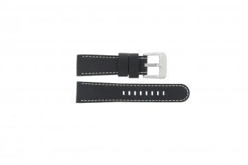 Danish Design Uhrenarmband IQ13Q712 Leder Schwarz 20mm